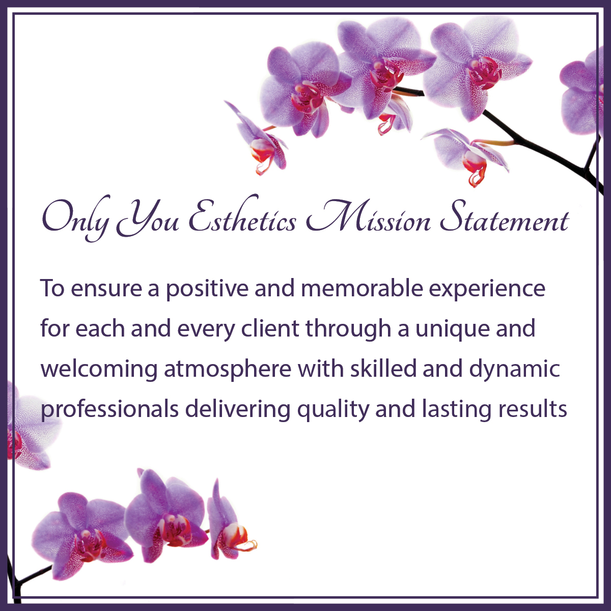 mission statement only you esthetics mission statement only you esthetics >